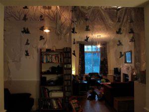 halloween dorm room pic