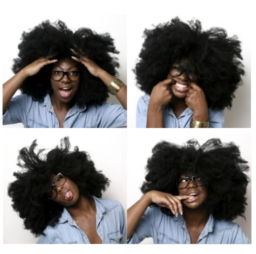 natural hair fun pic vocalady