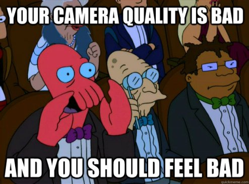 terrible cam quality insta